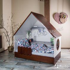 Кровать домик LittleHome— фотография №4