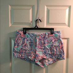 DISCONTINUED Lilly Pulitzer Walsh Shorts These are LP Walsh shorts are perfect for any Lilly lover! They were worn about 3 times at the most and have no flaws, in excellent/like new condition! Lilly Pulitzer Shorts
