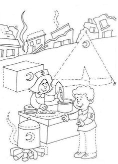 Coloring Pages For Kids, Coloring Books, Pre Writing, Survival Skills, Life Skills, Preschool Activities, Kindergarten, Projects To Try, Arts And Crafts