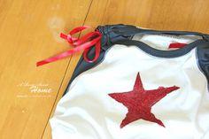 A Rosie Sweet Home: T Shirt Re-Do Refashion tutorial