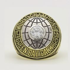 1966 Super Bowl I Green Bay Packers Championship Ring