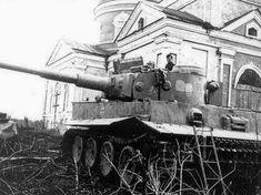 Tiger I (probably in USSR)