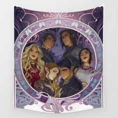 The Inner Circle Wall Tapestry - $40 - A Court of Mist and Fury Gifts!