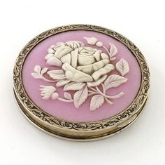 #Cameo Compact Russian Hallmarked C.1935-45