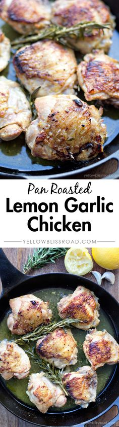 Pan Roasted Lemon Ga