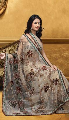 Beautiful sari - I want to wear one
