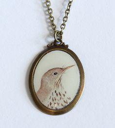Bird Camio Neckace