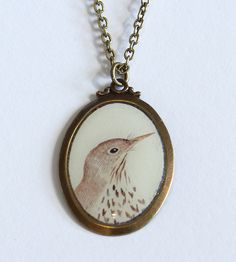 Bird Camio Neckace- love!
