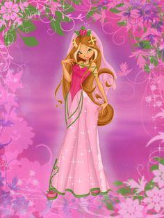 Flora: First Ball Gown by RoseMagique on DeviantArt