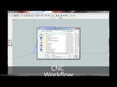 CNC Workflow: Sketchup, Makercam, GRBL Controller - YouTube