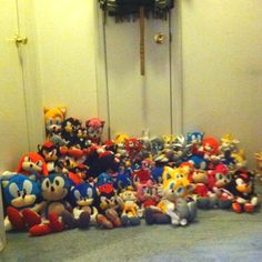 Sonic the Hedgehog Plush Collection