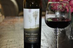 Ghost Pines Cabernet Sauvignon. My new fave wine...thanks Robyn.