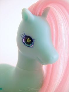 My Little Pony G2 toy named Seabreeze. I remember having her when I was a kid.