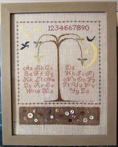 ThreeSheepStudio: Counted Cross Stitch Sampler...