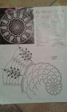 Filet Crochet, Mandala Au Crochet, Crochet Doily Diagram, Crochet Doily Patterns, Thread Crochet, Crochet Doilies, Crochet Stitches, Knit Crochet, Crochet Dreamcatcher Pattern