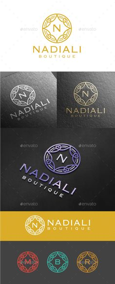 Boutique Luxury Logo — Vector EPS #store #logotype • Available here → https://graphicriver.net/item/boutique-luxury-logo/13718955?ref=pxcr