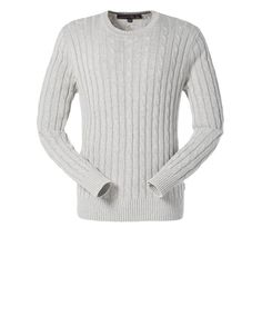 Bobby Cable Crew Neck   New In   MUSTO