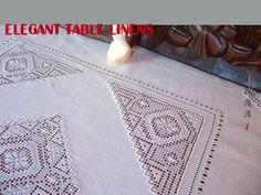 elegant table linens