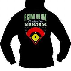 A Game So Fine  Softball back  0916