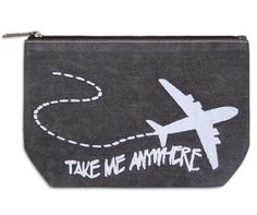 Take Me Anywhere Small Travel Pouch