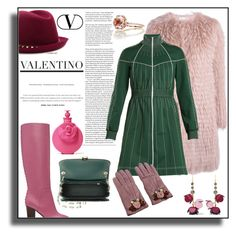 """VALENTINO!!!"" by kskafida ❤ liked on Polyvore featuring RED Valentino, Valentino and Marni"