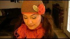 How To Crochet A Beanie Hat Step By Step, via YouTube.
