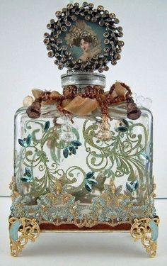 Antique Perfume Bottle by Terese Vernita