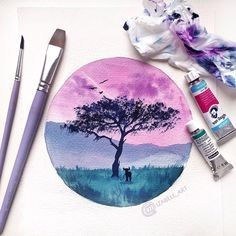 "8,739 Likes, 19 Comments - Watercolor illustrations  (@watercolor.illustrations) on Instagram: "" Watercolorist: @izabell_art  #waterblog #акварель #aquarelle #drawing #art #artist #artwork…"""