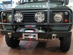 LAND ROVER DEFENDER 110 TD4 PICK UP LIMITED EDITION  ROUGH  MOVIE 1