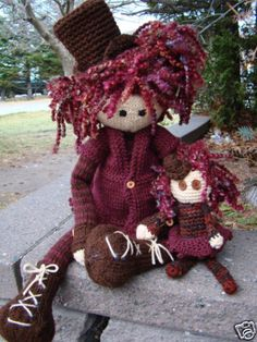 Dear Prudence and Lucie-Skye knit doll