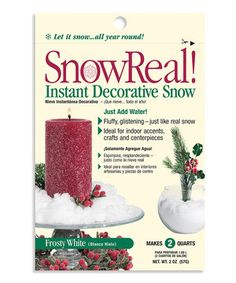Love this Snow Real 1-Oz. Bag by JRM Chemical on #zulily! #zulilyfinds