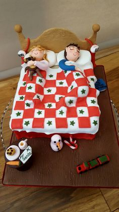 Christmas Eve themed cake
