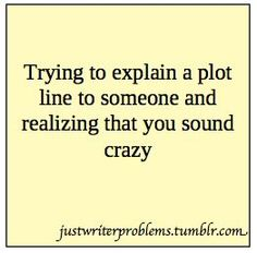 Oh, gosh, like, all the time. Even for my own books!