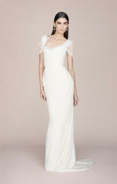 Vivienne Westwood Made-To-Order Long Ball Tie Dress with lace