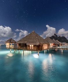 "INTERIOR PORN on Twitter: ""must visit Bora Bora one day 😍… "" Bora Bora Resorts, Hotels And Resorts, Best Hotels, Vacation Destinations, Dream Vacations, Vacation Spots, Greece Vacation, Santorini, Paradise California"