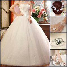 White dress it is my dream ♥♥♥