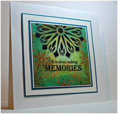 Card Tags, I Card, Making Memories, Poppy, Stamping, Stencils, Sweet, Projects, How To Make