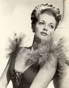 Janis Paige . my namesake. My mother named me after Janis Paige but I tell everyone she named me after Janis Joplin.  She's younger.Ha.