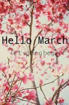 ...let spring begin...