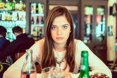 Kaja in restaurant Turquoise Necklace, Portrait Photography, Restaurant, Beauty, Women, Fashion, Moda, Fashion Styles, Diner Restaurant