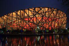 Bird's nest, beijing china