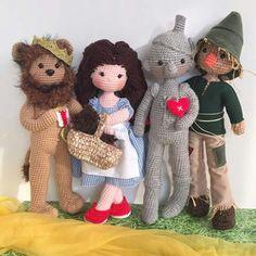 El Mago de Oz / Crochet Wizard of Oz