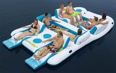 8 Person Floating Island Raft