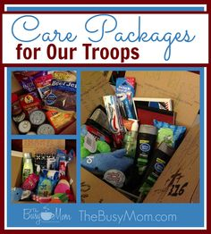 Veteran's Day Care Packages from Ben and Me