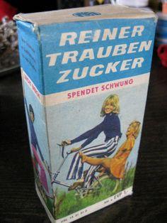 Original DDR Lebensmittel Nährmittel Packung Traubenzucker 300g