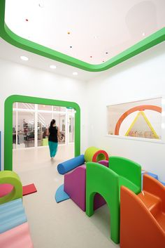 This Fun-Filled Childcare Center Is Like A Big Toy Box Lodève Childcare Center By A+Architecture