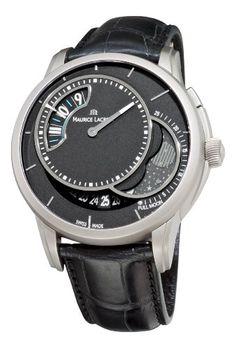 Maurice Lacroix Men's PT6218-TT031330 Pontos Decentrique Phases De Lune Black Moonphase Dial Watch Maurice Lacroix http://www.amazon.com/dp/B005HF13PO/ref=cm_sw_r_pi_dp_NkRBub1A0DYDK