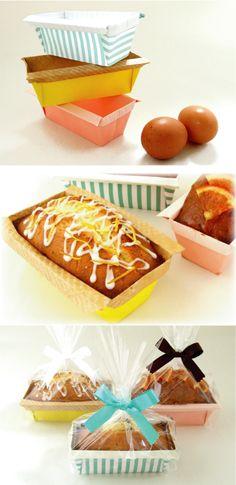 自分で折るとこんなに楽しい、パウンドケーキ型の折り方