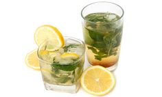 Green Tea Lemonade. Reduces stomache fat by 77%, is all-natural, super healing, and a great alternative to sugary energy drinks!
