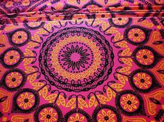 Pink Psychedelic Original South African by chocolatnegrodesign
